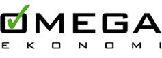 Logga för Omega Ekonomi: Redovisningsbyrå i Stockholm, Nacka Strand.